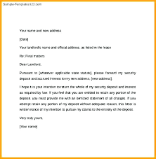 30 day notice to vacate letter landlord template beautiful vacating format exle of tenant quit landlor
