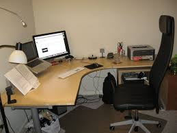 better home interior remodeling l shaped desk ikea furniture and black chair with high backrest