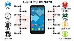 Alcatel Pop C9 7047D Dual SIM - MnBetak ...