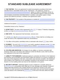 Simple Rental Lease Agreement Free Printable Rental Lease Agreement Templates Pdf Word