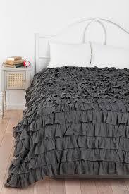 bedding set ruffle duvet stunning grey ruffle bedding waterfall ruffle duvet cover terrific gray ruffle