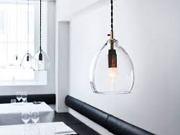 kitchen pendant lighting uk with the northern unika pendant light clear glass at nest co