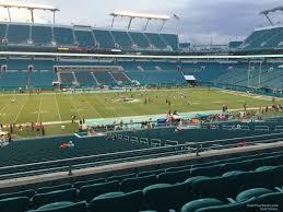 Hard Rock Stadium Section 220 Miami Dolphins