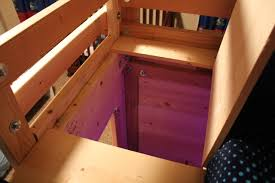 cool bunk bed fort. The Bed With An Escape Hatch! - Queen Loft Plans \u2013 Fort Cool Bunk N
