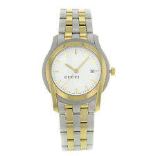 gucci mens gold watch gucci 5500 ya055216 stainless steel gold plated quartz men s watch