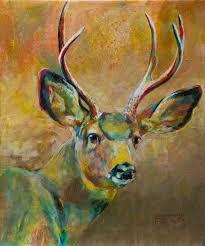 shannon ford mule deer buck 24 x