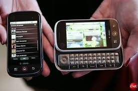 first motorola phone. motorola cliq first phone
