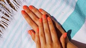 hard gel nails at