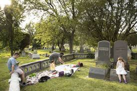 to bring in new blood historic cemeteries get creative with yoga dog walks and picnics