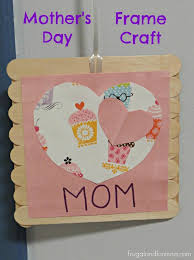 mother s day frame craft activity