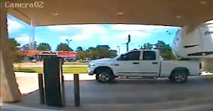 Does This Video Show a Truck Destroying a Drive-Through Bank Canopy?