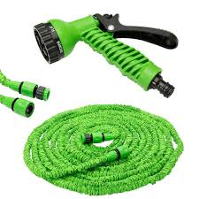 expandable garden hose with 7 functions