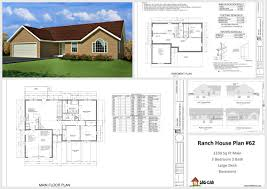 Free House Plans And Designs Pdf Plan 62 1330 Sq Ft Custom Home Design Autocad Dwg And Pdf