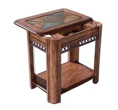 Round Chairside Table Chair Side Table Wooden Chairside Table Home Elegance Furniture