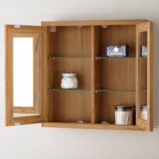 Horizontal Medicine Cabinet 36 Venica Teak Vanity For Semi Recessed Sink Bathroom