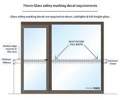 glass safety decals australia making
