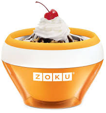 "<b>Мороженица Zoku</b> ""<b>Ice Cream</b> Maker"", цвет: оранжевый, 150 мл ..."