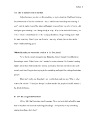 interview essay examples example of an interview essay gxart  interview article writing sample interview essay examples