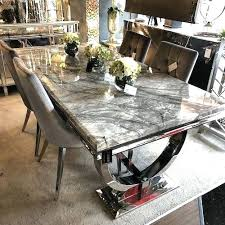 grey marble dining table china modern ivory cream marble top chrome dining table stainless steel with grey marble dining table