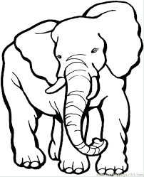coloring pages of elephants printable coloring page elephant 9 coloring page mammals elephant free coloring pages