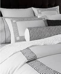 hotel collection greek key bedding