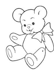 Small Picture Teddy Bear Coloring Page omalovnky Pinterest Teddy bear