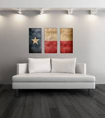 triptych vintage texas flag panel canvas art vintage texas wall decor texas flag canvas art print set of 3 canvases on wall art printing ideas with triptych vintage texas flag panel canvas art vintage texas wall