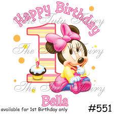 25 Images Of Baby Minnie 1st Year Template Geldfritz Net