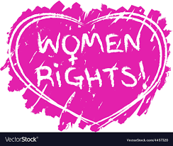 Women rights symbol Royalty Free Vector Image - VectorStock