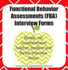 Functional Behavior Assessment Template … | Data Collection | Pinte…