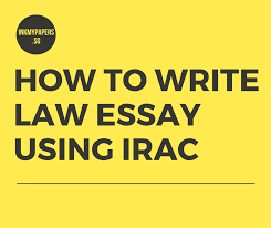 What is irac method in law. How To Write Law Essay Using Irac Inkmypapers