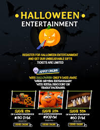 halloween sale flyer 7 spooky halloween flyer templates venngage