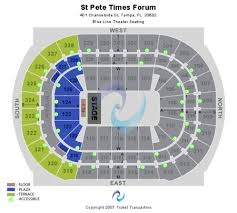St Pete Times Forum Tickets St Pete Times Forum In Tampa