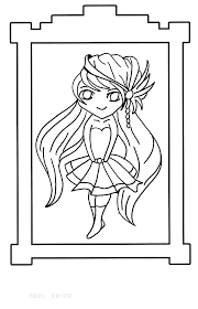 Anime Coloring Sheets Anime Printable Coloring Pages Free Anime