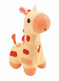 Fisher-Price Soothe & Glow Giraffe - Yellow