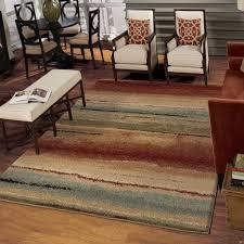 latest orion rugs com orian striped capizzi multi area rug 7 10 x