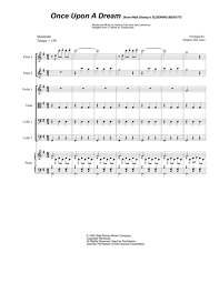 exultet sheet music download once upon a dream string orchestra sheet music by lana
