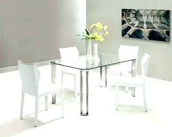 interior all glass dining table 4 6 modern grey gloss and round glass