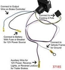 wiring instructions for curt harness c55362 w pollak 7 pole Pollak Trailer Plugs Wiring Diagram click to enlarge pollak trailer plugs wiring diagram pdf