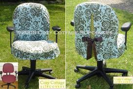 office chair makeover. 20 DIY Slipcovers. Desk ChairsOffice Office Chair Makeover S