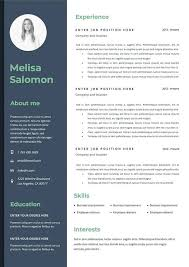 Microsoft Word Job Resume Template Resume Template Cv Template Creative And Modern For
