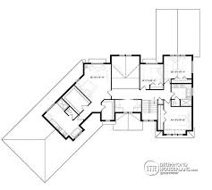 house plan w3890 detail from drummondhouseplans com Luxury Waterfront Home Plans 2nd level luxury cape cod style home, 4 to 5 bedrooms, large master suite plan styles luxury waterfront house plans