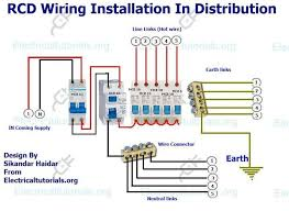 17 best electrical tutorials images on pinterest Single Phase Meter Wiring Diagram rcd wiring installation in single phase distribution board single phase meter socket wiring diagram