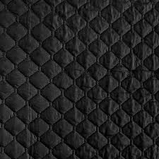 Satin Quilted Polyester White Fabric - Sold By The Yard & Satin Quilted Polyester Black Fabric - Sold By The Yard Adamdwight.com