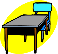 royalty free classroom desk clipart school cafeteria table clip
