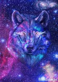 Galaxy Cool Wolf Pictures Wallpaper