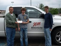 hill electric murray ky 270 753 9562 electrician electrical hill electric owner john hudson seniors seth fortenbery and daniel hopkins