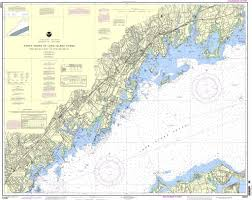 Noaa Chart 12367 North Shore Of Long Island Sound Greenwich Point To New Rochelle