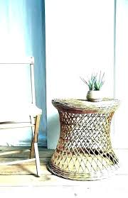 rattan side table white rattan coffee table wicker or rattan coffee tables wicker side table white