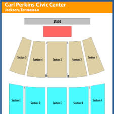 Carl Perkins Civic Center Events And Concerts In Jackson